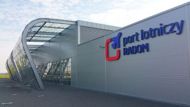 Lotnisko Radom terminal