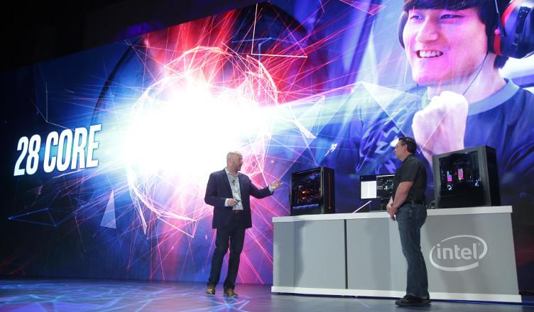 Gregory Bryant prezentacja procesora 28 rdzeni