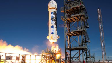 Start New Shepard Blue Origin