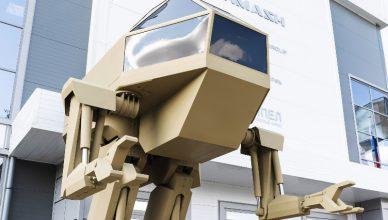 Kałasznikow Mech robot bojowy