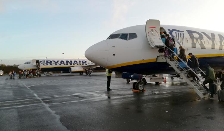 Ryanair Paryż