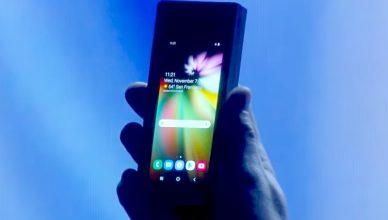 Samsung składany ekran