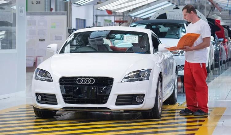 Audi zakład w Gyor