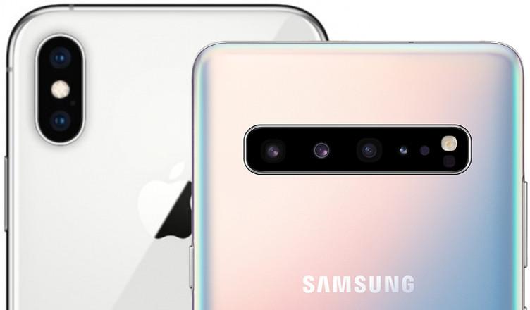 galaxy s10 plus iphone xs max