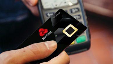 karta płatnicza z czytnikiem
