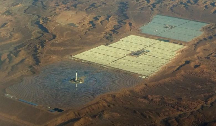 największa elektrownia słoneczna Noor