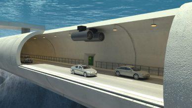 podwodny tunel