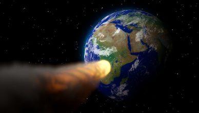 zderzenie z asteroidą