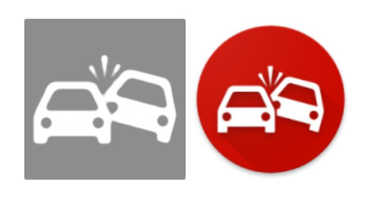 google rozpoznawanie wypadku drogowego
