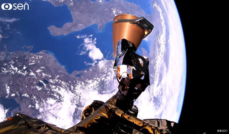 sen 4K z kosmosu