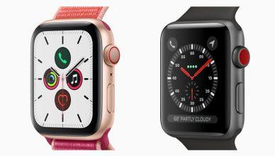 apple watche 3 I 5