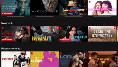 Netflix bitrate w dół