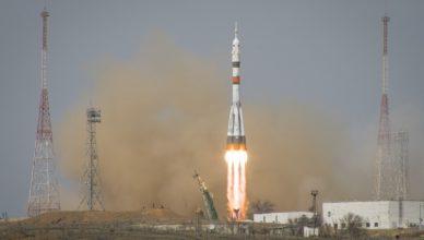 Start statku Sojuz