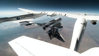 virgin galactic test