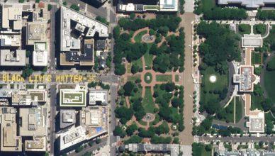 zdjęcie satelitarne Waszyngton Planet