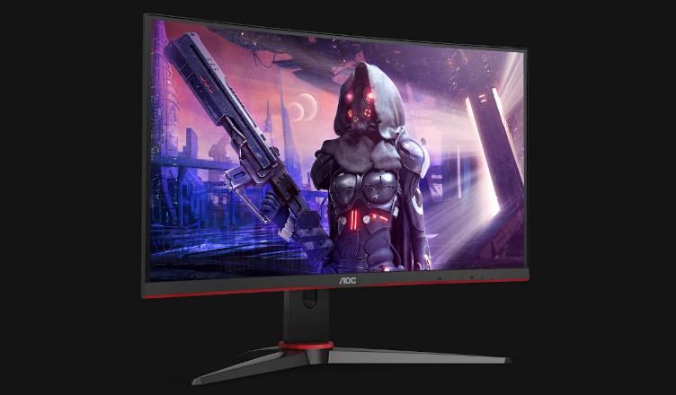 AOC zakrzywiony monitor dla graczy