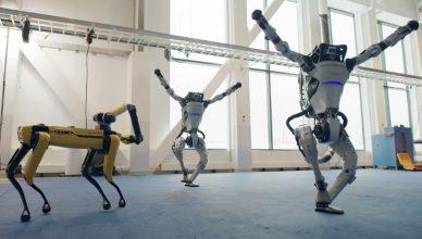 boston dynamics tanczace roboty