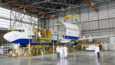 konwersja samolotu na transportowy