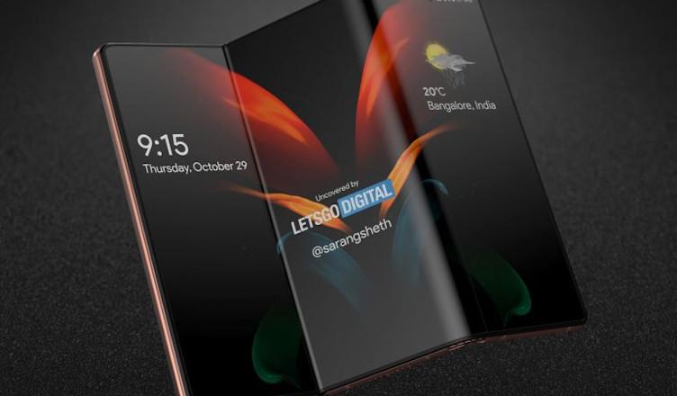 Samsung fold 3 render