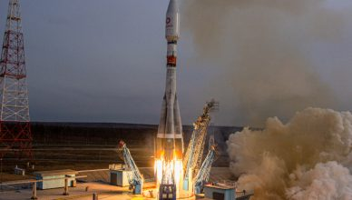 rakieta sojus z satelitami OneWeb