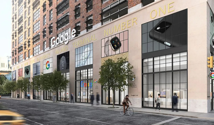 sklep google w nowym jorku