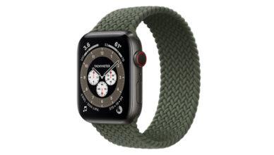 Apple Watch titan series 6