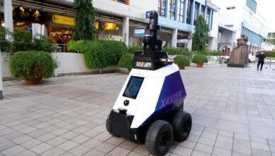 robot policyjny