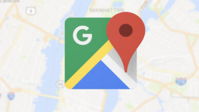 Mapy Google Pożar